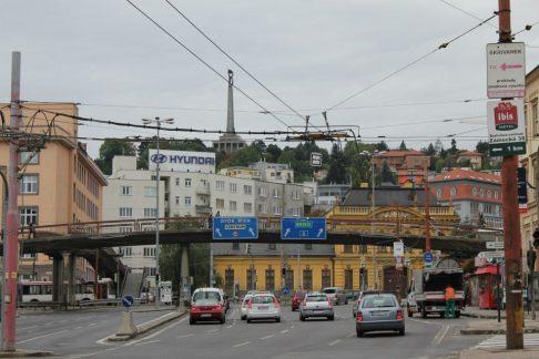 Avenida de entrada de Bratislava