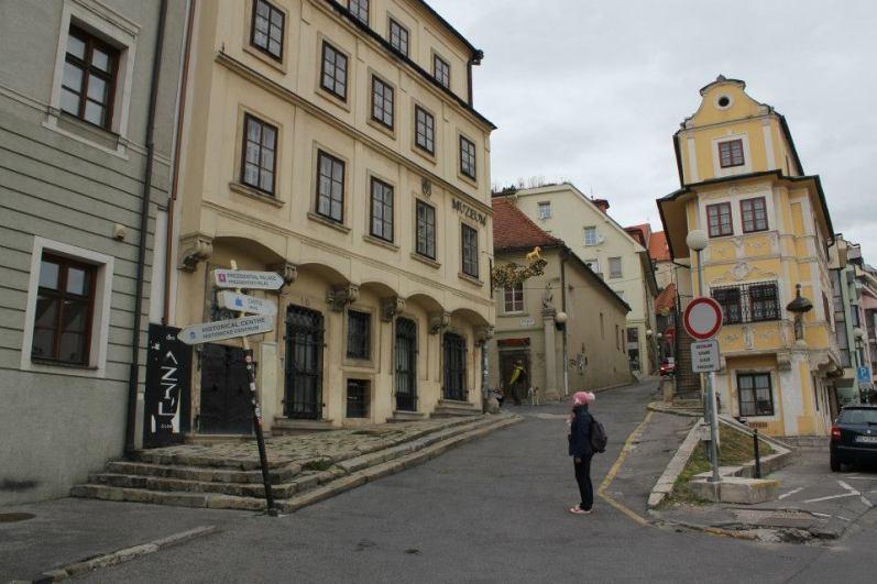 Bratislava. Subida al castillo