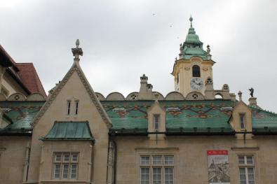 Detalle de tejados. Bratislava