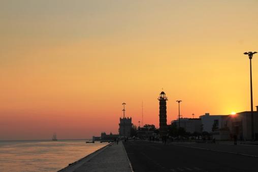 Atardece en Lisboa