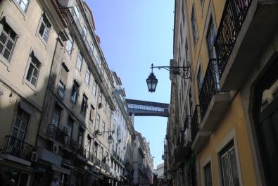 Calle del centro de Lisboa