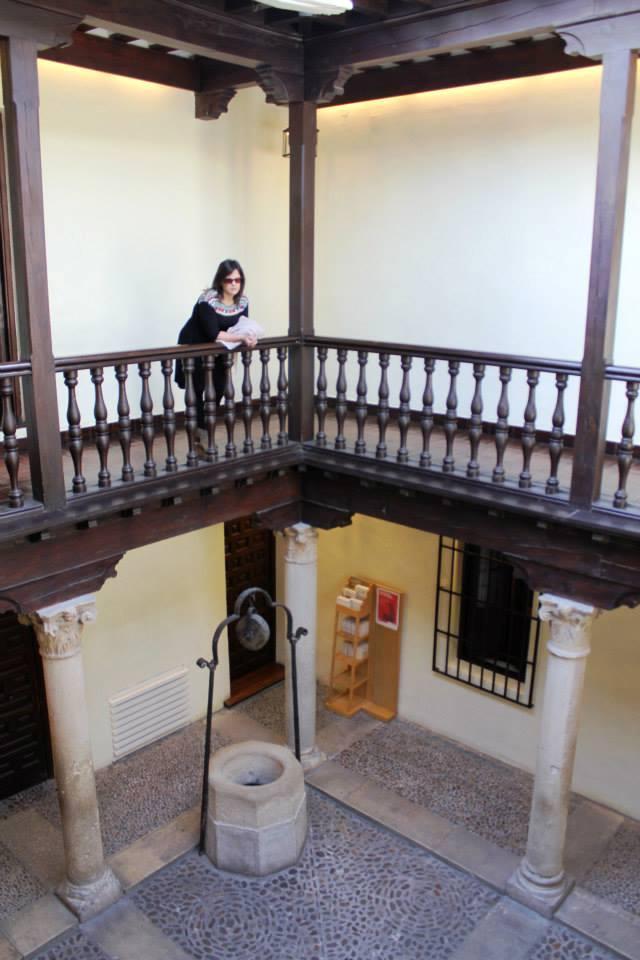 Casa Natal de Cervantes-patio- Alcalá de Henares