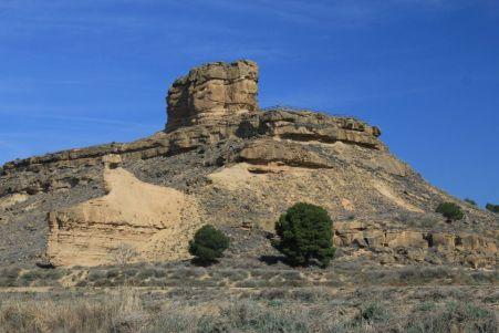 Castillo de Tubo en Monegros