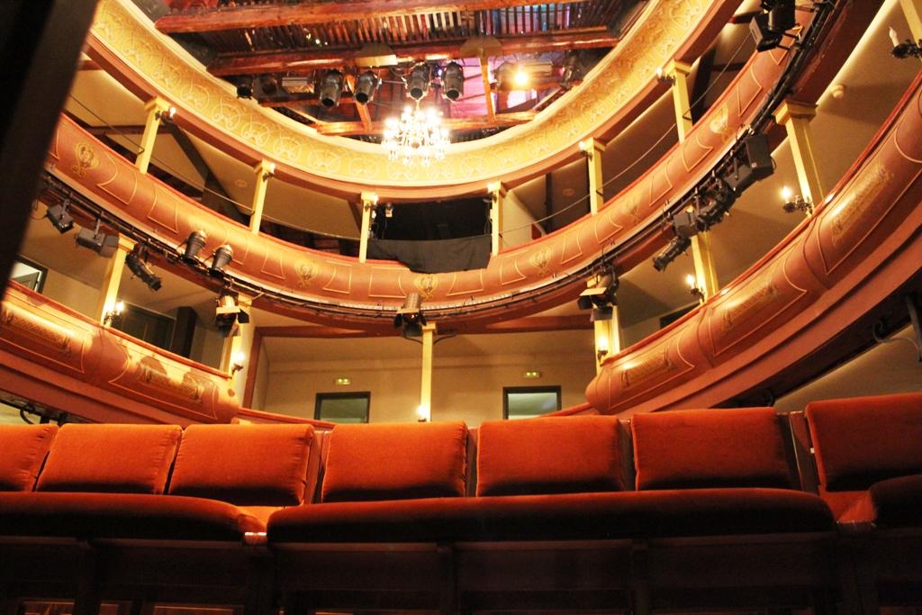 Corrala de Alcalá - Vista desde el interior del escenario