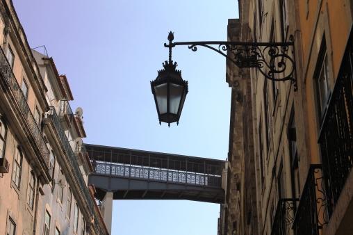 Detalle del elevador de San Jorge