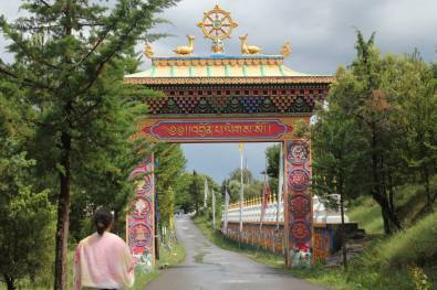 Entrada templo budista