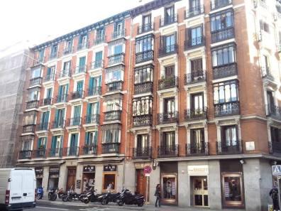 Fachadas características de Madrid