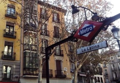 Metro la Latina-Madrid
