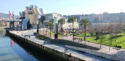Museo Guggenheim, vista exterior