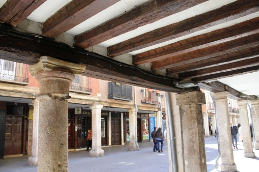 Porches calle Mayor de Alcalá de Henares