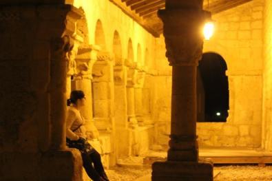 portico iglesia San Esteban de Gormaz