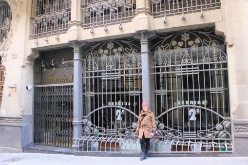 Reja Modernista en Teruel