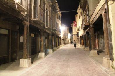 San Esteban de Gormaz. Calle central