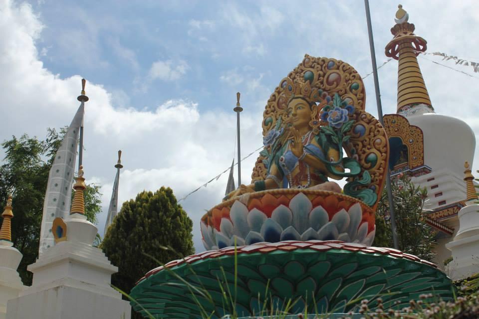 tempo budista Dag Shang Kagyu