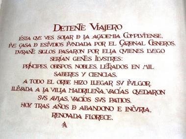 Universidad de Alcalá-Mural