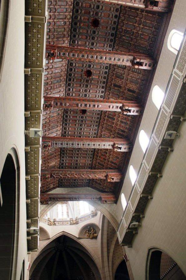 Artesonado mudéjar catedral de Teruel