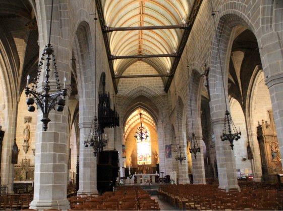 Interior iglesia Vitre