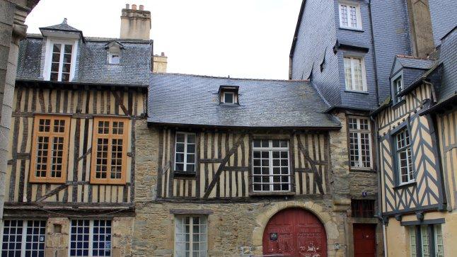 PLaza medieval Rennes