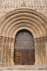 Puerta iglesia de Veruela