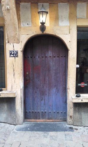 Puerta iluminada