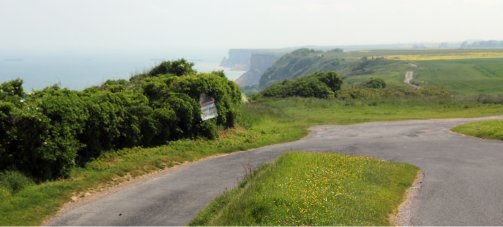 carretera acantilados