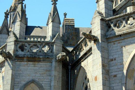 DEtalle catedral Arromanches