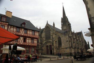 Josselin catedral