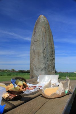 picnic en el menhir