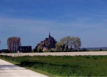 Saint Michel desde el parking
