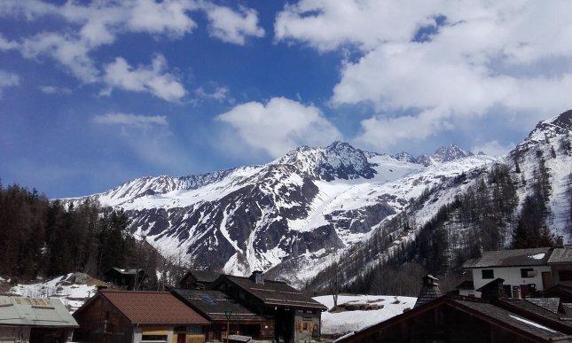 tejados de Chamonix