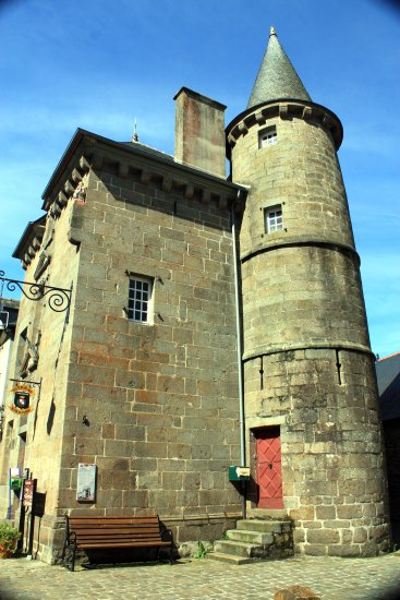 torreón en Combourg
