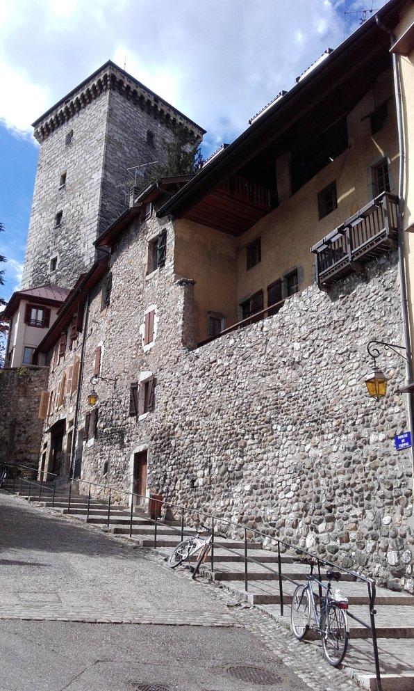 trasera del castillo
