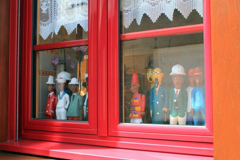 ventana en Combourg