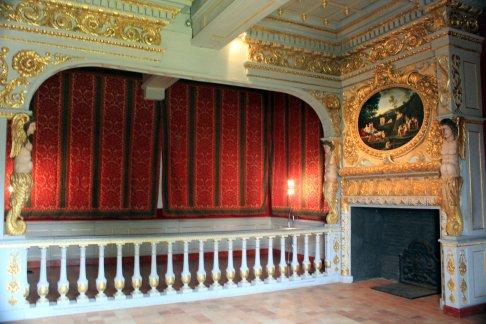 dormitorio chimenea Chateaubriand