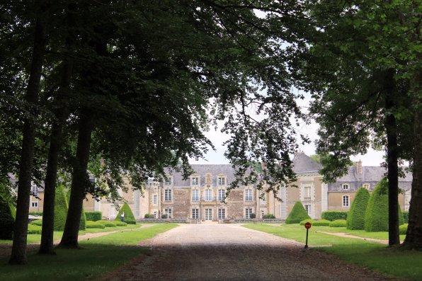 entrada chateau Lorie