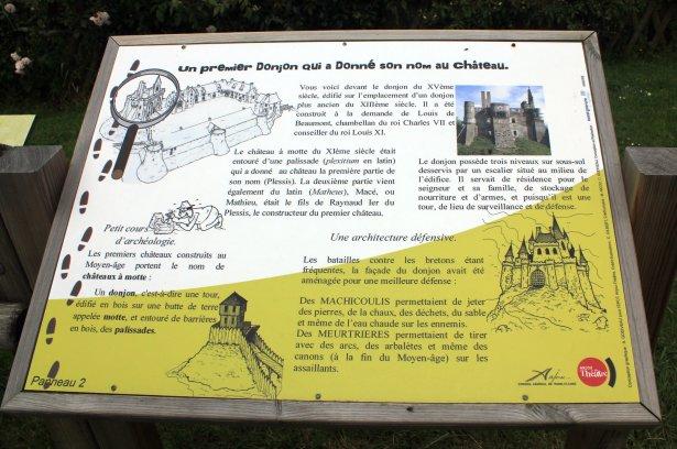 panel castillo medieval