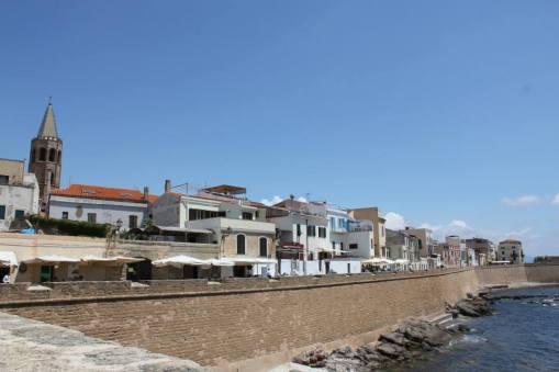 paseo marítimo Alghero