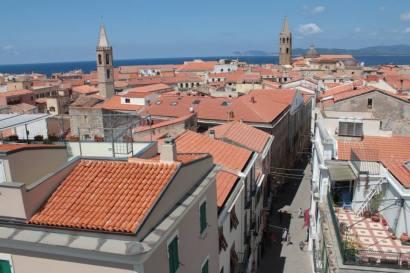 tejados de Alghero