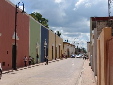una callecita de Valladolid