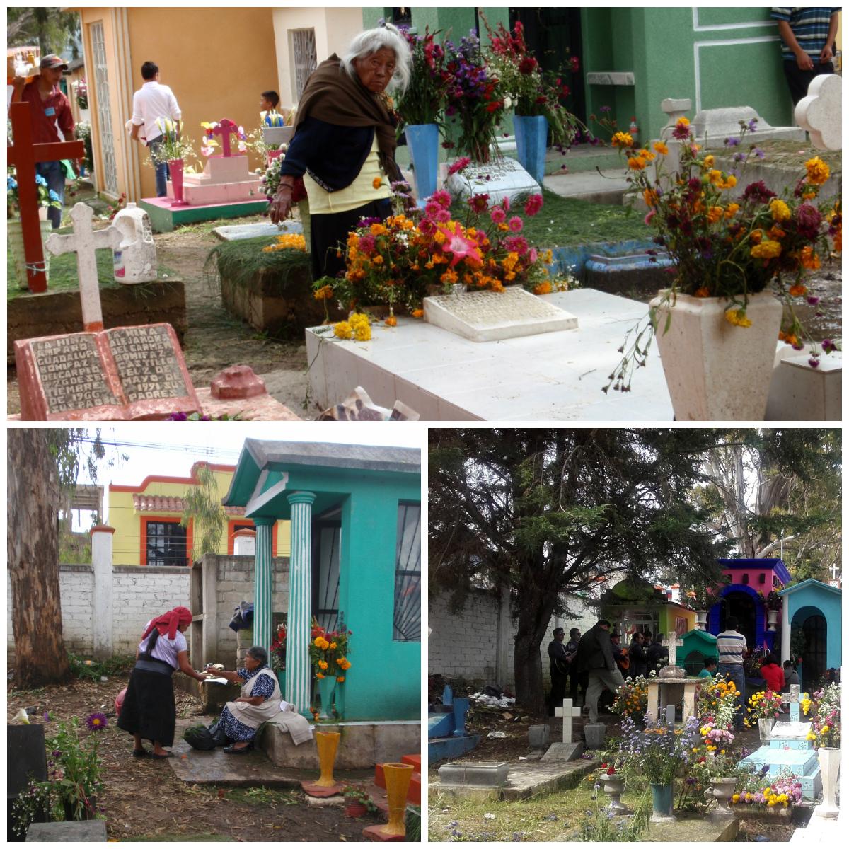 parientes-en-cementerio-mexicano