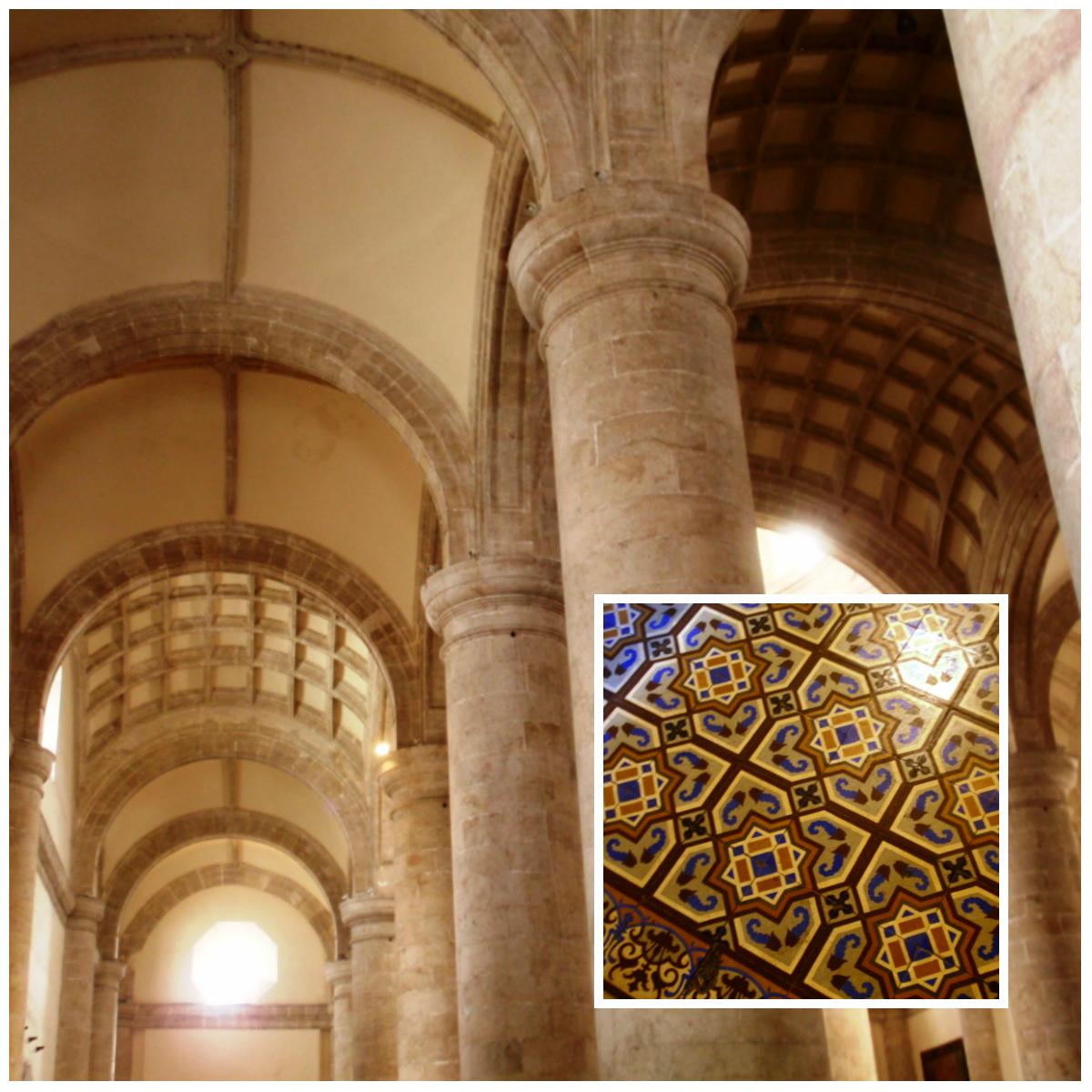 collage interior catedral de Mérida Yucatán.jpg