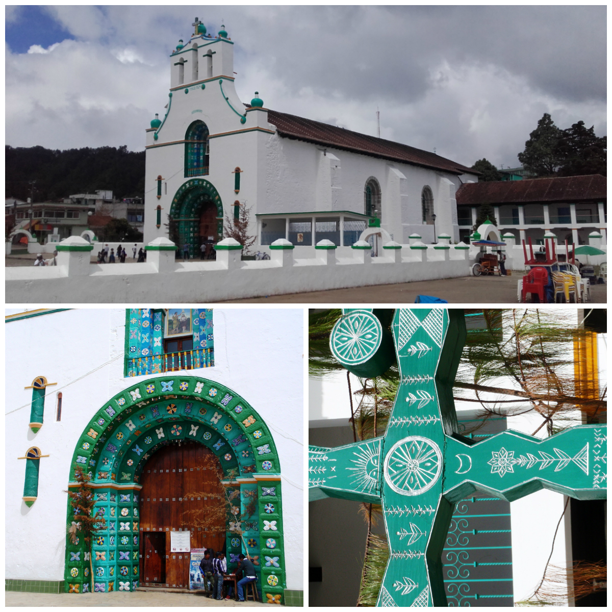 Fotos del interior de la iglesia de san juan chamula 30